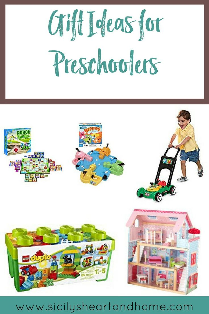 Preschool Gift Ideas | Not sure what to get that preschooler on your Christmas list? Click through to find some great Christmas gift ideas for preschoolers.