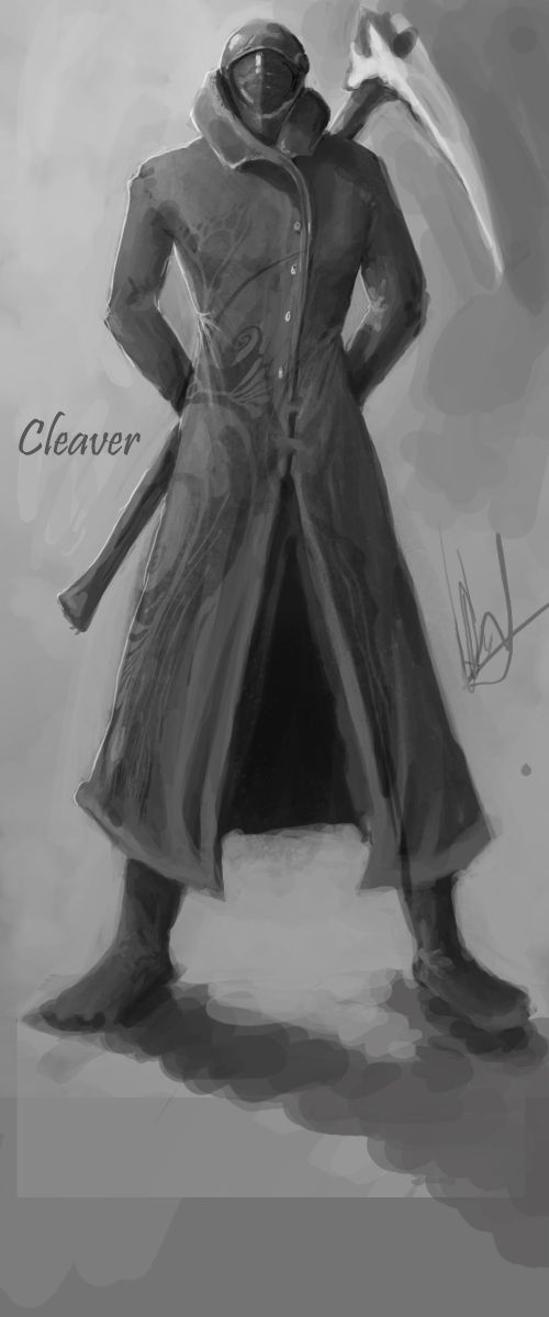 Gruselig, die Interpretation von Cleaver ((c) ~Corza334 on deviantART)