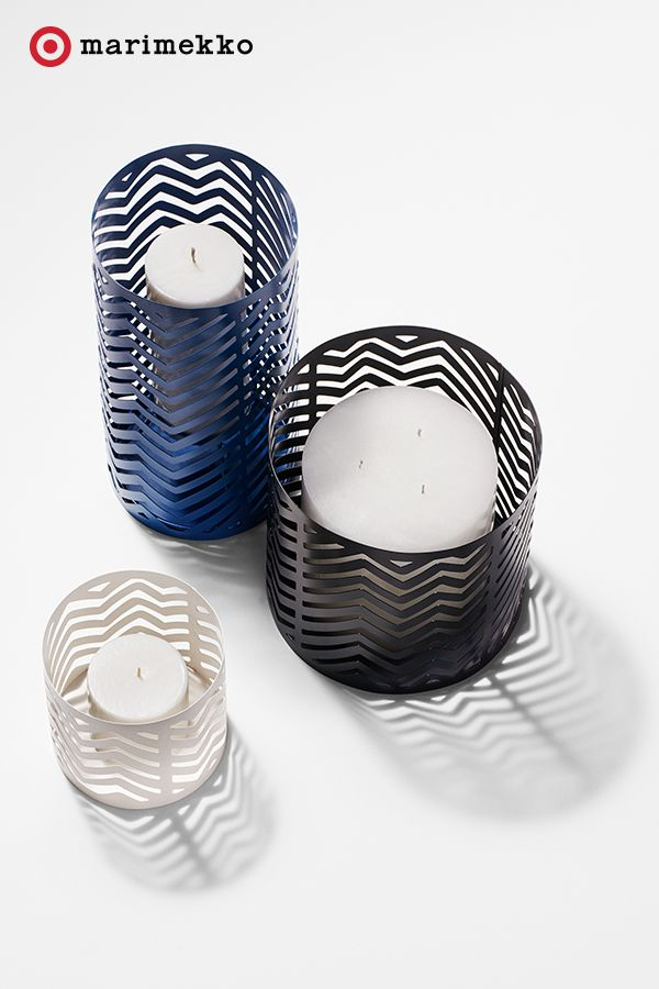 These brilliantly designed Marimekko for Target Hurricane Lanterns are so luxe when lit. Perfect on a patio (or anywhere really.) Mix up the small, medium and large sizes to create a layer of dimension. Plus, the die-cut pattern instantly elevates the décor of any room. Add these to your home starting April 17th. Click to peruse the entire collection lookbook featuring fashion, home, outdoor and more.