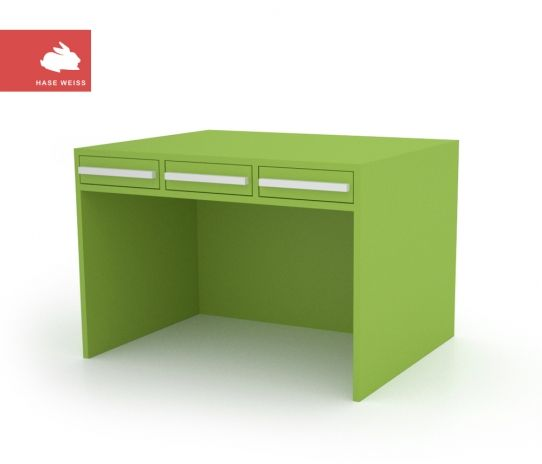 """Desk ( Tisch) """" homework can be fun"""" avaiable in different colors"""