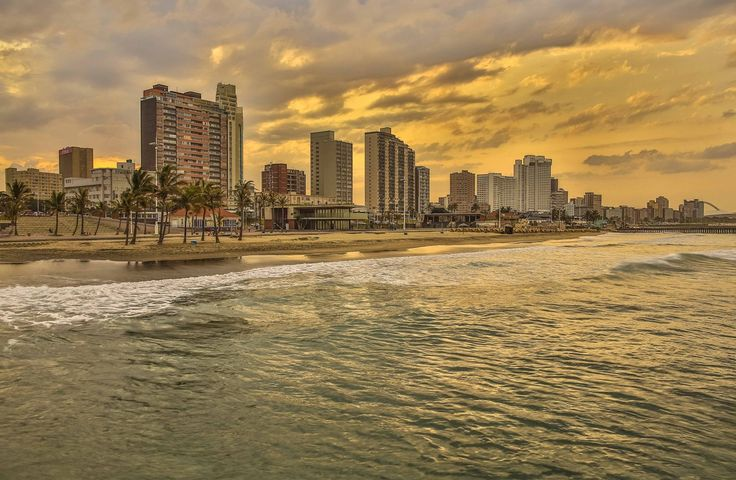 Durban Beachfront, South Africa. #travel-paradise divine africa