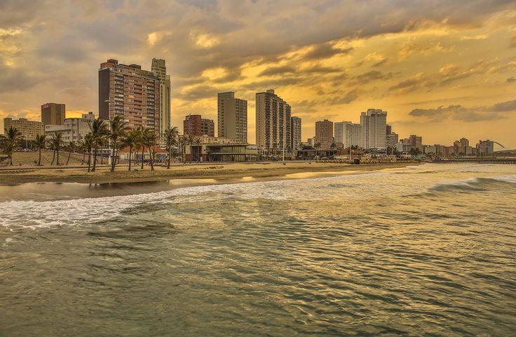 Durban Beachfront, South Africa. #travel-paradise divine africa