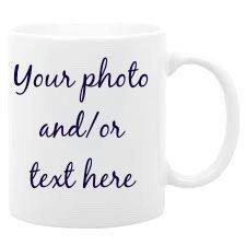 Personalized coffee mug custom photo mug by mymugsandmore on Etsy