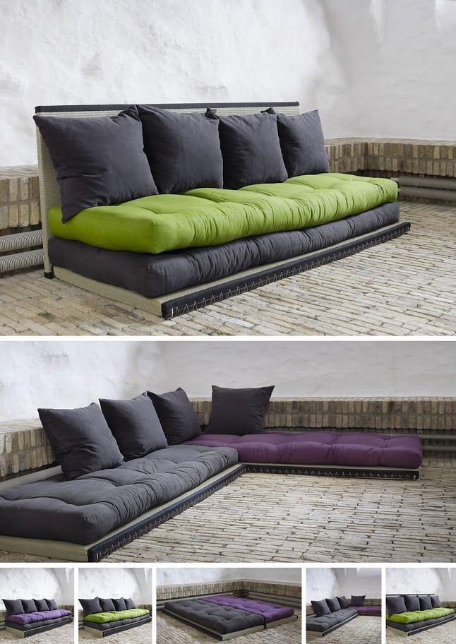 Fehlt Dir wie mir auch der Platz für ein großes Sofa, oder brauchst du ein flexibles Bettsofa mit stylefaktor? Hier findest du eine Bauanleitung für dein ultimatives Couch-Projekt.