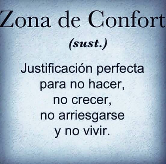 〽️ Zona de Confort...