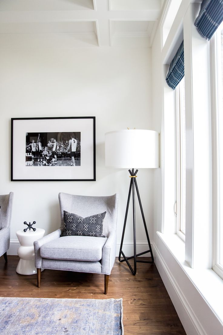 And black and white means your home office style is longer lasting - The Top 5 Things You Should Splurge On In Your Home