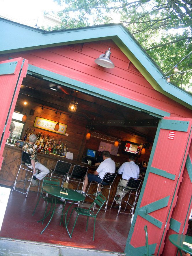 17 best images about out door bars on pinterest outdoor for Fish thyme acworth