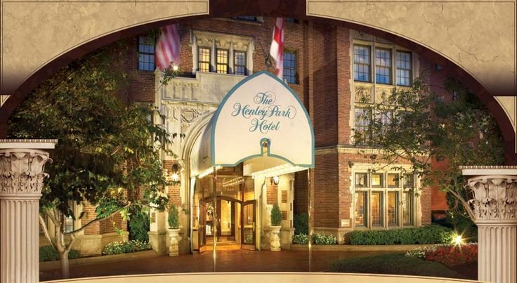 The Henley Park Hotel, Washington DC - nice quaint hotel - my favorite place to stay in DC