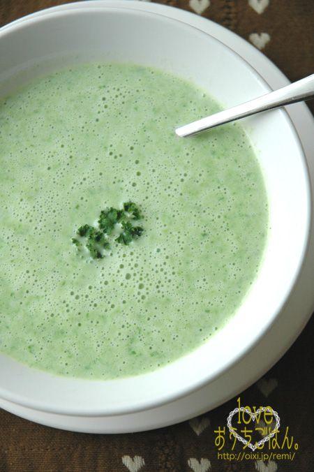 レタスのクリームスープ。   美肌レシピ