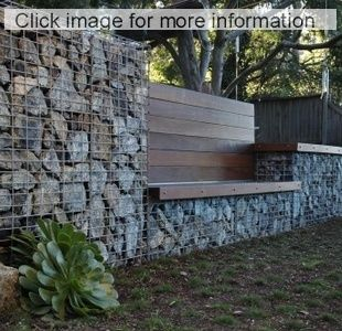 gabion retaining garden wall images - Google Search