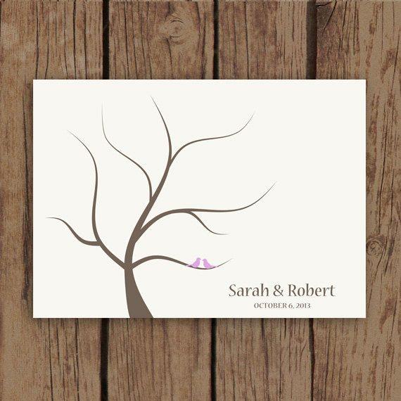 wedding tree guest book free template - best 25 fingerprint guest books ideas on pinterest