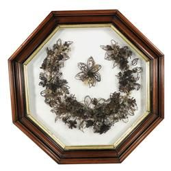Do you have a Victorian Funeral Hair Wreath in Your Family?