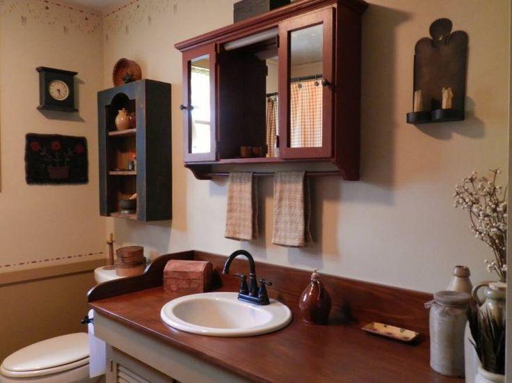 72 best Primitive bathrooms images on Pinterest | Bathroom ...