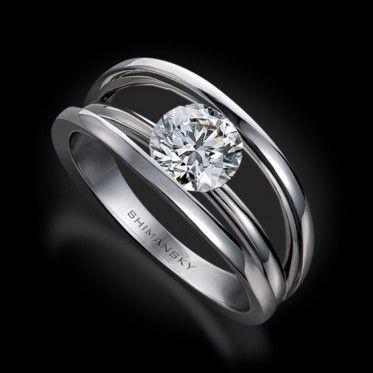 8 best Shimansky images on Pinterest Diamond engagement rings