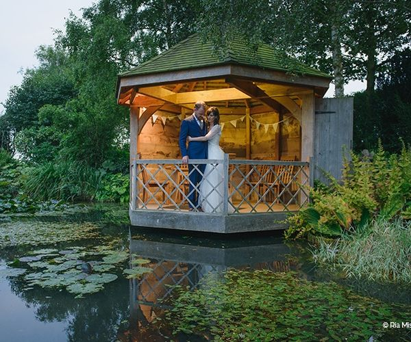 Just married at South Farm wedding venue in Cambridgeshire   CHWV