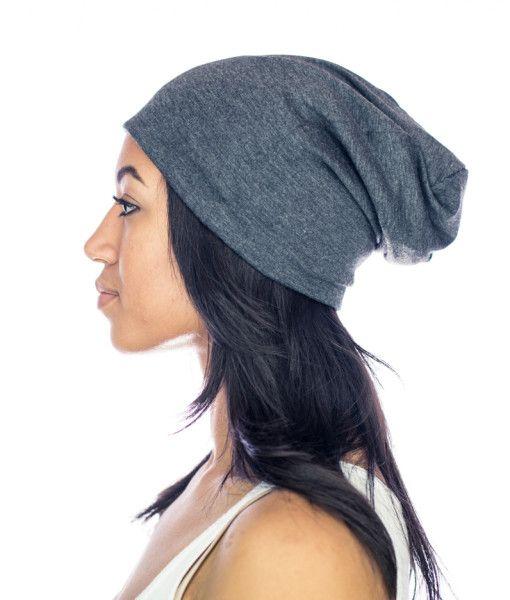 Gray Slap Satin Lined Cap Natural Hair Styles Curly