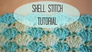 crochet shell stitch tutorials from youtube