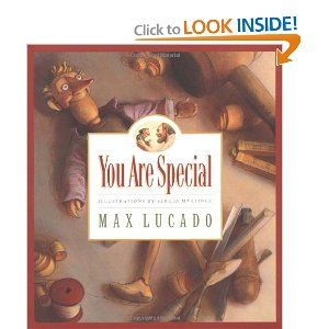 Family Night Idea - You Are Special   (more ideas linked to from this blog) I love this book!