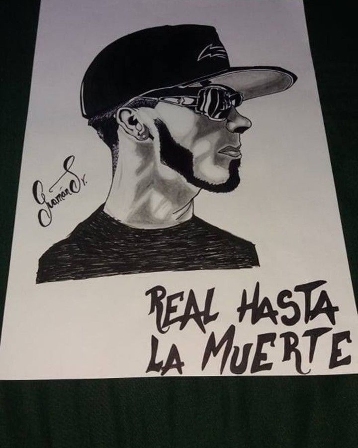 Anuel Aa Dibujos Movie Posters Art Poster