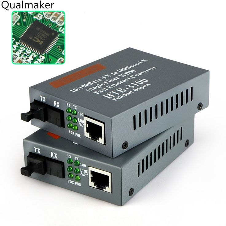 <Click Image to Buy> 1 Pair Htb-3100AB Optical Fiber Media Converter Fiber Transceiver Single Mode Fiber Converter 25km 10/100M SC Media Single Fiber ~ Find similar beautiful pieces on  AliExpress.com. Just click the image #CommunicationEquipment