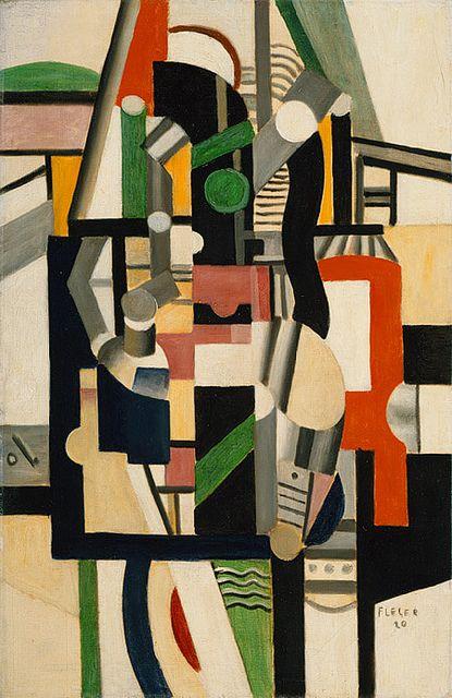 Mechanical Elements, 1920, Fernand Leger