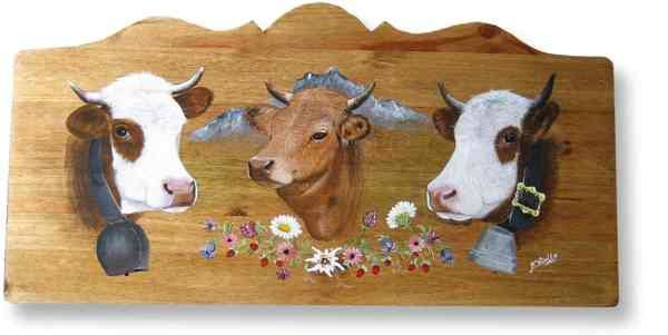 la montagne les vaches les marmottes les edelweiss en. Black Bedroom Furniture Sets. Home Design Ideas