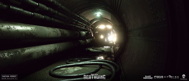 ArtStation - Space Hulk Deathwing - Generic Environments 01, Gaëtan Perrot