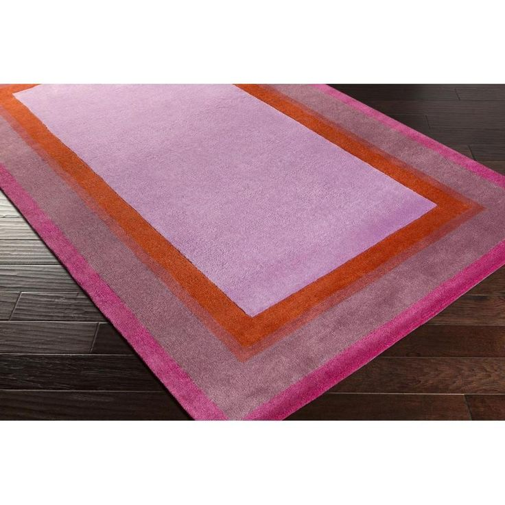 Young Life Kids Rug | Purple Kids Rugs Hand Tufted | Style YGL7002