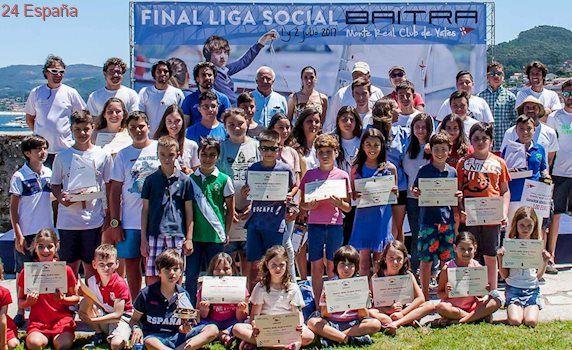 Martínez, Trigo y Salgueiro ganan la Liga Social Baitra
