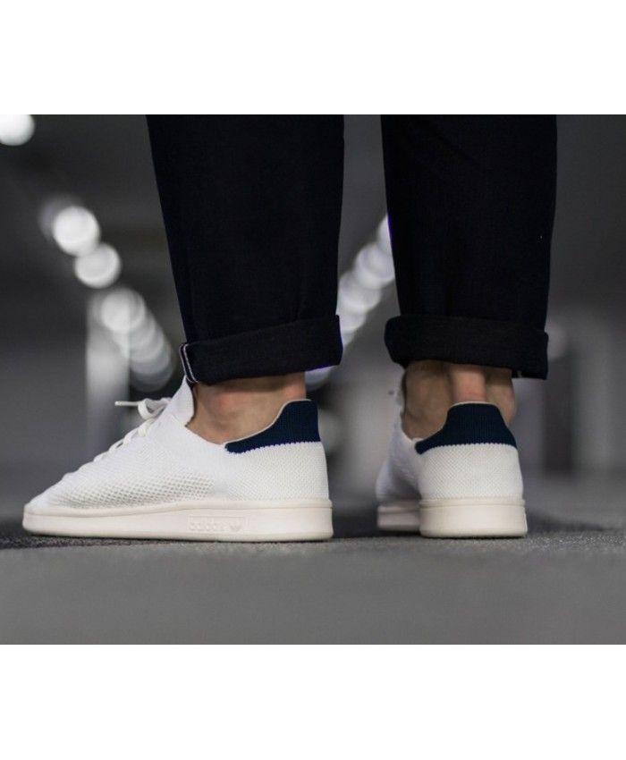 bendición Aeródromo Sobrevivir  Mens Adidas Stan Smith OG PK Pack Primeknit White Navy Shoes | Adidas stan  smith, Adidas originals stan smith, Stan smith