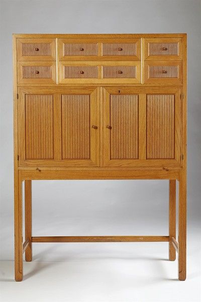 Cabinet, Designed And Made By Hjalmar Jackson