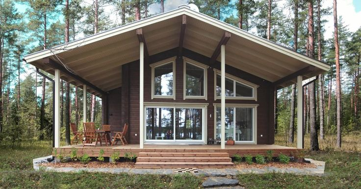 Строительство коттеджей, дач и домов в Финляндии, Финские дома и домики, весь комплекс услуг по строительству коттеджей в Финляндии.