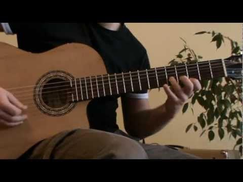 Cancion del Mariachi spanish guitar solo cover - acoustic guitar solo - guitar solo lesson - guitar solo tab