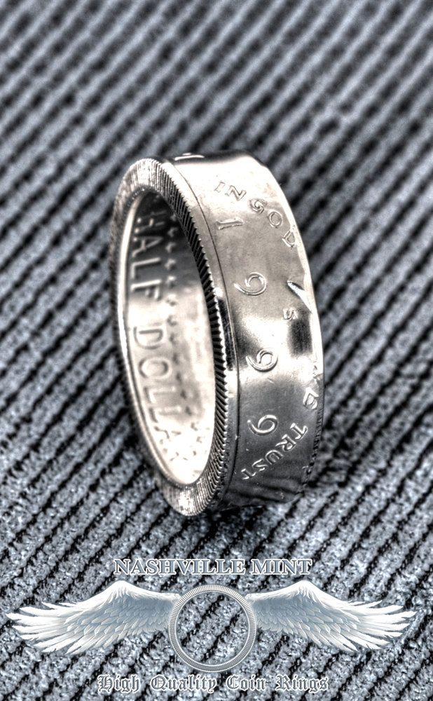 17 Best images about Silver Half Dollar Coin Rings on Pinterest