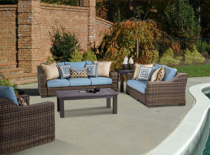 Wonderful Wicker Furniture Naples Fl #12: The Naples Wicker Patio Furniture Collection By South Sea Rattan