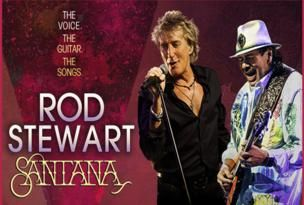 Win tickets to see Rod Stewart and Carlos Santana at the Times Union Center on May 23! 2 Lucky participants will each win a pair of tickets to the show! Click the pic to go to the entry form.