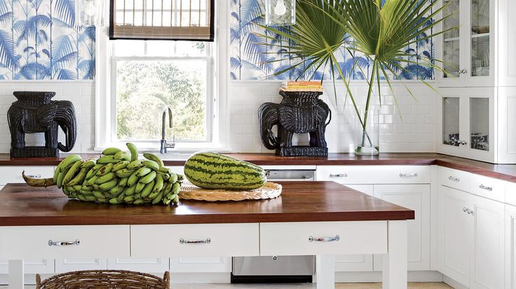 4. Island kitchens have more personality.   Bahamas designer Amanda Lindroth spills her secrets for creating authentic Caribbean style.