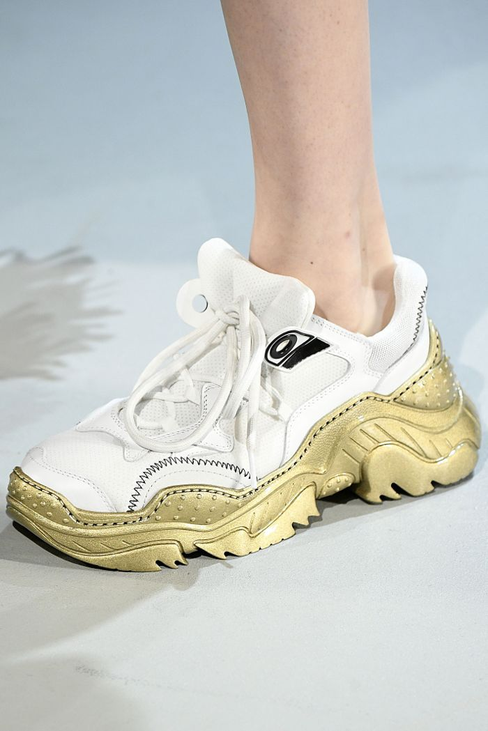 44513d67b4254 Curious to see the best sneakers from the Fall 2018 runways  We ve got you  covered.