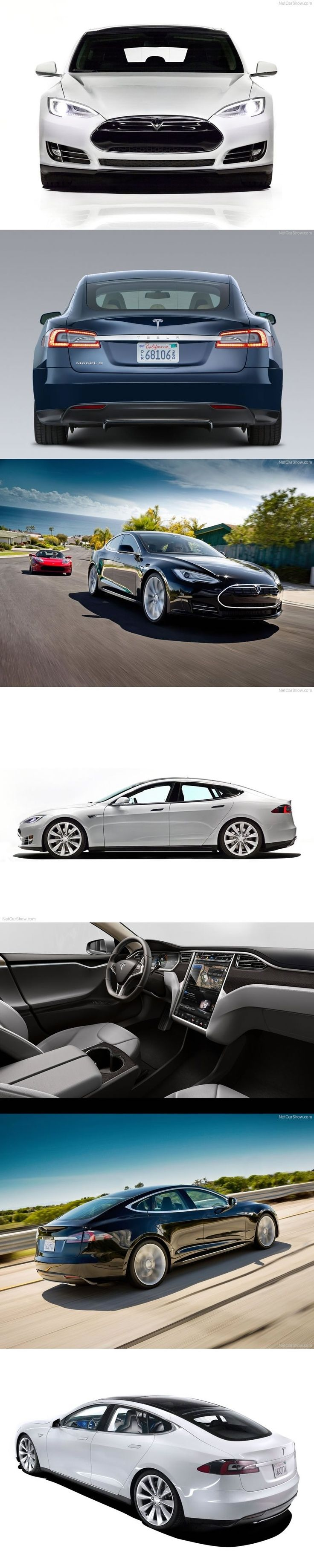 'The car of the future...today' This stunning #Tesla Model S is innovation in car design. You could WIN one by clicking on the image, now. #ClickToWin #eBayGarage #spon