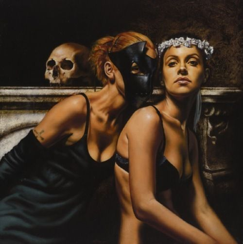 """""""The Sisters"""" by Saturno ButtoArt Work, Painting Inspiration, Art Inspiration, Art Prints, Italian Artists, Realistic Artworks, Saturno Butto, Artists Saturno, Saturno Buttò"""