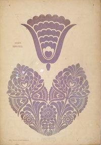 Plate 4. Magyar stílusú rajzminták. Budapest : Szerző, 1904