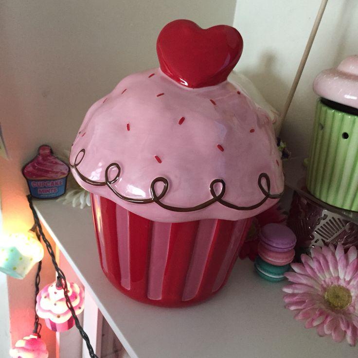 Target Valentine S Day Heart Cupcake Cookie Jar ️ Just
