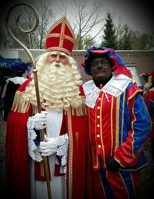 Piet Franco en Sinterklaas