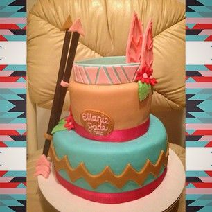 Here is a Pocahontas cake you'll eat with all the colors in the wind. | 27 Disney Princess Confections That Will Blow Your Mind
