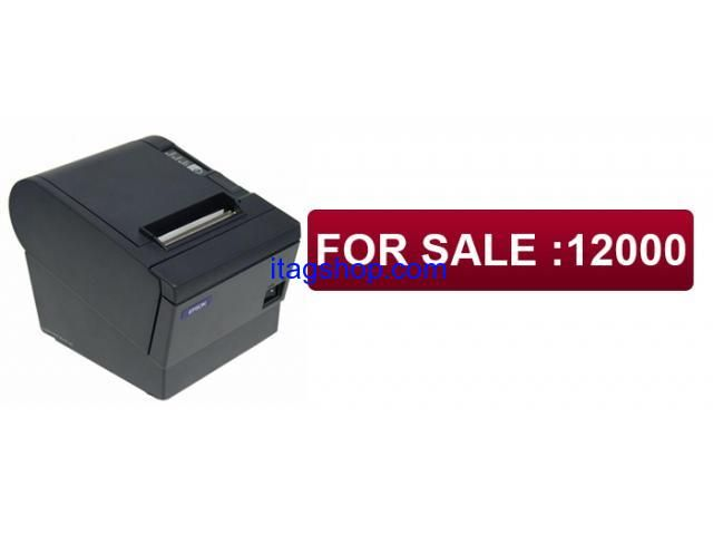 """Printer Thermal Receipt Docket Epson TM-T88III M129C Parallel & Serial Brand: Epson Model: M129C Specifications: Printing speed: 150mm (5.9"""")/sec (47 lps, 1/8"""" conversion)  Maximum Print Resolution: 180 dpi  Wide Thermal Paper 3.13"""",79 mm  Data buffer 4KB / 45 bytes  Serial Port: Yes  Interface: Parallel & Serial Interface  Features: Easy drop-in paper loading with tear-bar or Auto-cutter."""