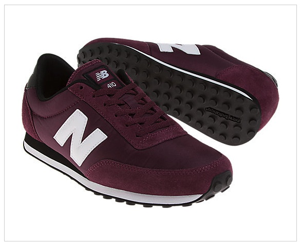 new balance burgundy trainers