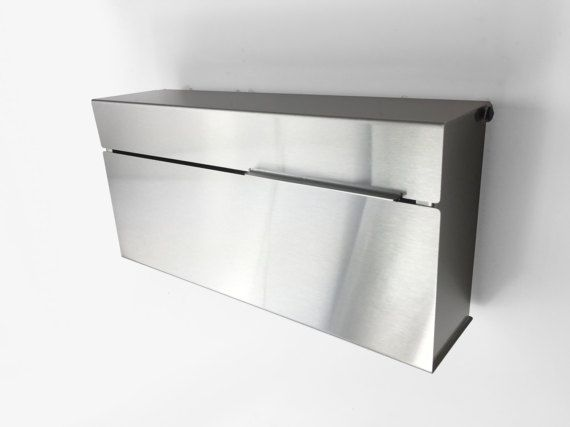 Modern and contemporary mailbox stainless steel design