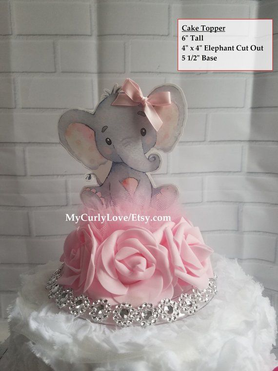 1 ANGEL DIAPER TOPPER CAKE COLD PORCELAIN BABY SHOWER