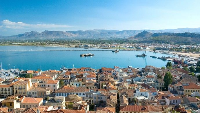 DISCOVER PELOPONNESE |  Greece: Nafplion is home to Venetian and Turkish buildings and twisting, labyrinthine streets. http://www.discover-peloponnese.com/