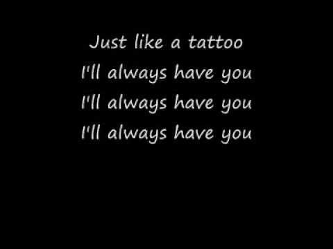 Jordan Sparks - Tattoo